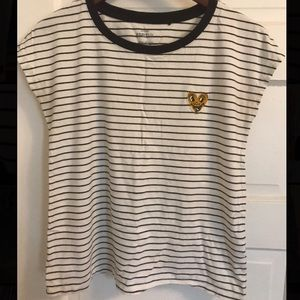 Funny heart Keith Haring designed shirt